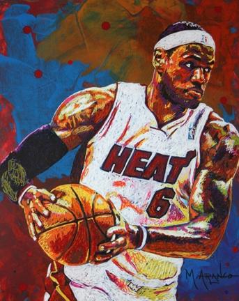 LeBron James by MArango